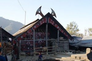 Tribal hut in Kigwema village