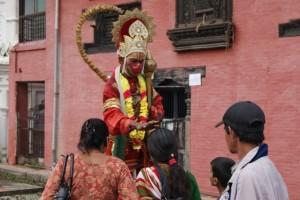 Hanuman's blessings - for a fee