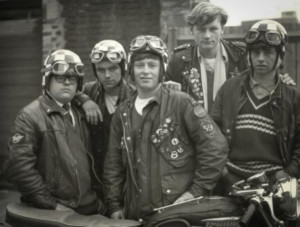 The earliest cafe racers