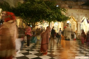 Devotion is the air at Iskcon