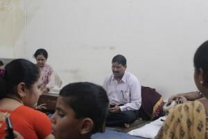 Concrete gurukuls: Umesh Kampoowale in class