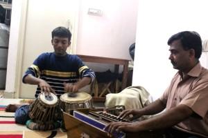 Mukesh Saxena with Hiten