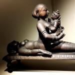 Putana suckling Krishna