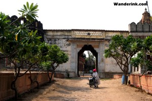 Entrance to Fort Auwa