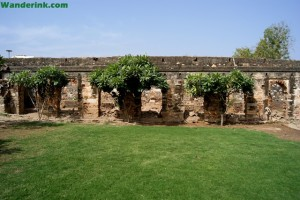 The stables of the fort