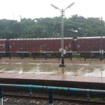 Rain-lashed at Mangalore