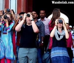 Still wonderful: At the Taj