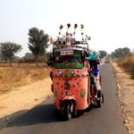 Peppy tuk tuks ply with music blaring