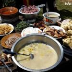 A Manggarai meal