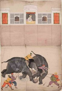 Painting by Nainsukh c. 1730 - 40