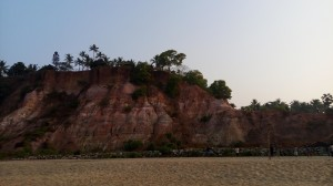 Looming wonder - Varkala cliff